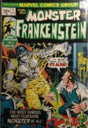 Monster Frankenstein 1 marvel benzi desenate vechi