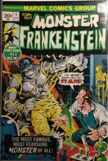 Monster Frankenstein 1 marvel benzi desenate vechi
