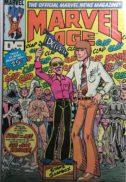 Marvel Age 8 stan lee cover marvel
