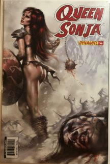 Good girl cover red sonja sexy comics benzi