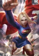 Supergirl card stock varianta dc comics benzi noi