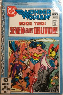 Wonder Woman benzi dc comics vechi romania