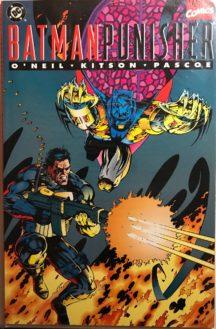 Batman Punisher dc comics benzi desenate noi