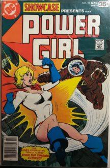 showcase presents dc comics power girl aparitie