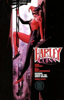 Curse of white knight harley quinn comics