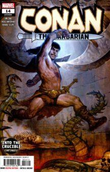 Conan barbarian comics marvel benzi desenate