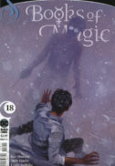Sandman books of magic dc comics black