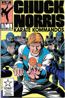 Chuck norris comic karate kommandos marvel
