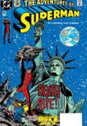Adventures of Superman benzi desenate vechi dc comics