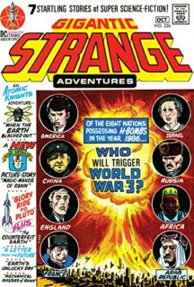 Strange adventures dc comics benzi desenate vechi