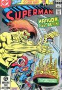 Superman kandor mai 1982 benzi desenate vechi