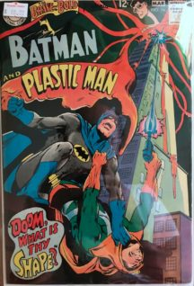 Batman plastic man brave and bold comics vintage