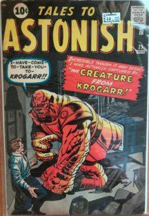 Jack Kirby Tales to Astonish marvel comics vintage