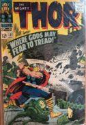 Thor asgard benzi desenate vechi marvel