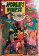 World finest silver age dc comics superman batman