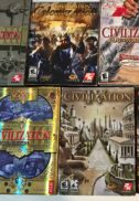 Cutii jocuri originale video games pc civilization