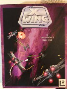 X-Wing Star wars game disks floppy
