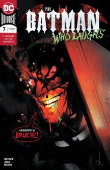 Batman who laughs 7 dc comics benzi noi