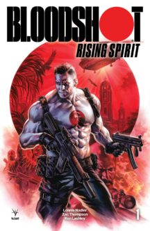 Bloodshot rising spirit 1 valiant comics benzi desenate