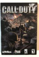 Call of duty big box cutie video game cd