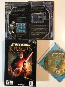 KOTOR Republic cd-rom box cutie joc video original vintage
