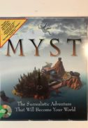 Myst cyan big box cutie video game original vanzareMyst cyan big box cutie video game original vanzare