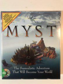 Myst cyan big box cutie video game original vanzareMyst cyan big box cutie video game original vanzare