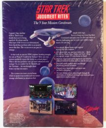 Star Trek video game sealed sigilat big box