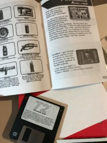 Terminator 2 for pc big box game video floppie