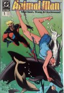 Animal Man Dolphin cover