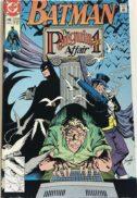 Batman Penguin cover dc comics benzi desenate vechi
