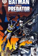 Batman vs predator benzi desenate vechi dc comics