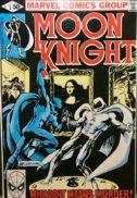 Moon knight prima aparitie marvel benzi desenate vintage