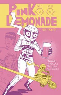 Pink Lemonade Its alive comics benzi desenate independente