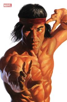 Shang Chi alex ross timeless variant alex ross cover