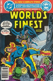 World's finest dc comics batman superman