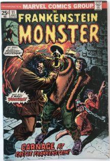 Frankenstein benzi desenate vechi marvel