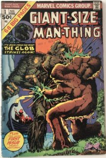 Giant size man-thing 1 marvel comics