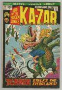 Astonishing tales ka-zar marvel benzi desenate vechi