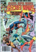 Secret wars volcnana benzi desenate prima aparitie