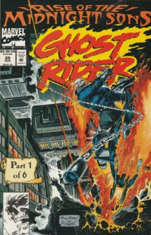 marvel ghost rider benzi desenate vechi midnight sons