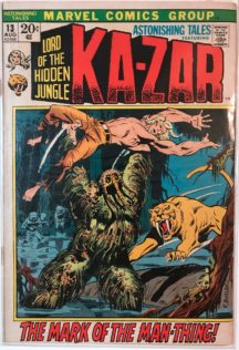 ka-zar benzi desenate vechi astonishing tales