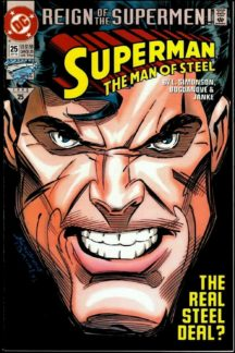 Man of steel benzi desenate noi dc comics