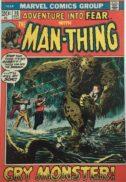 Adventure into fear man-thing solo benzi desenate vechi