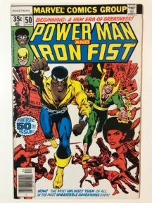 Power Man Iron Fist team-up