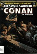 Savage Sword of Conan benzi desenate vechi marvel