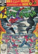 Marvel spider-man 222 hurricane comics vechi