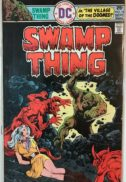 Swamp thing horror comics benzi desenate birne