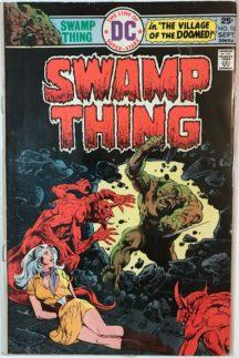 Swamp thing horror comics benzi desenate birne