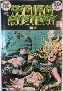 Weird Mystery tales dc comics benzi desenate horror